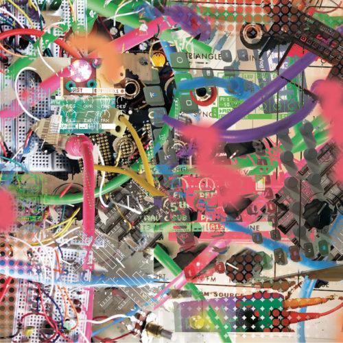 Cover art for J. Bagist and Muxer split cassette